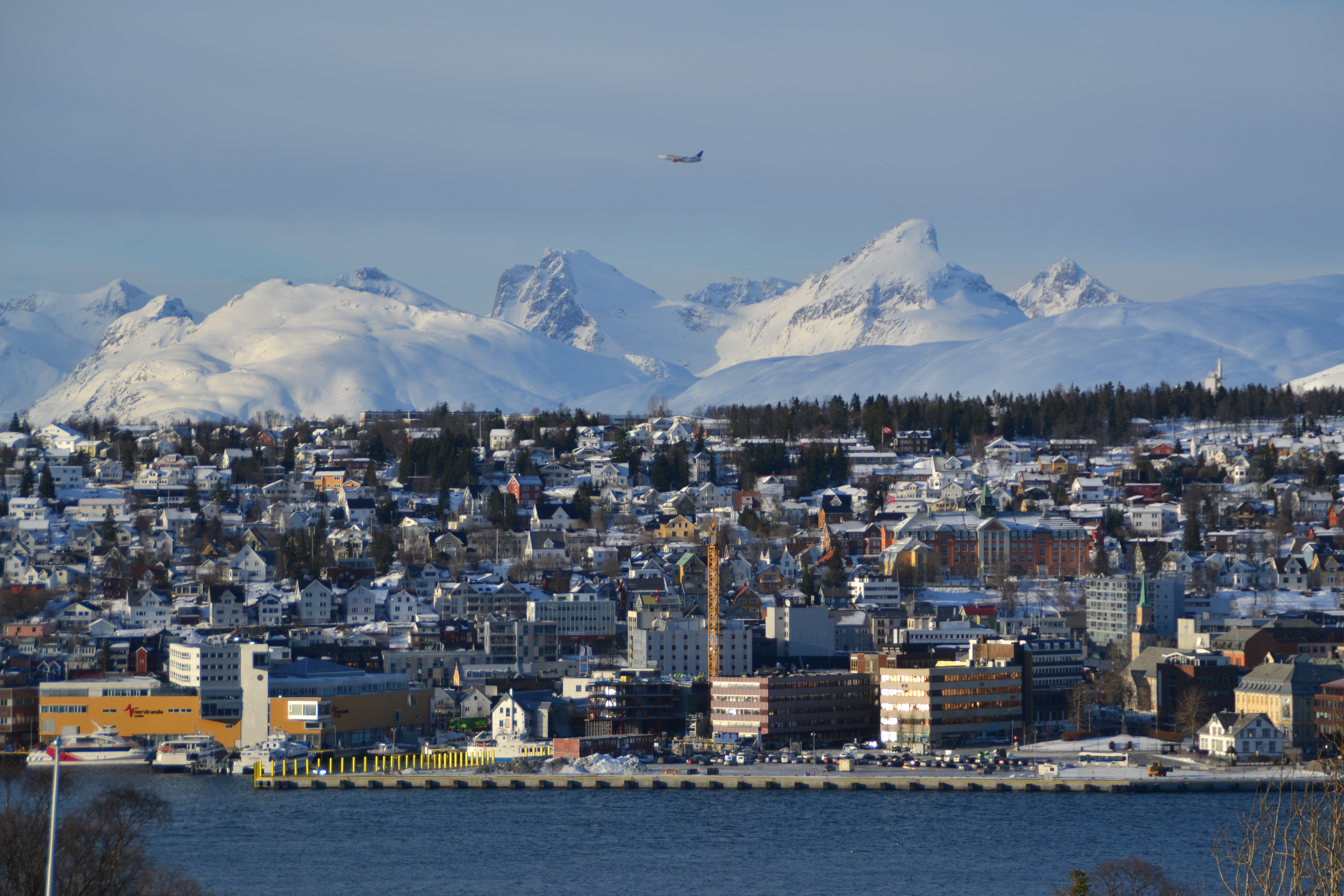 tromso in winter 2
