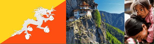 """""""A boldogság helyhez kötött"""" – állítja Bhután turisztikai szlogenje, és természetesen azt sugallja, hogy ez a hely nem más, mint Bhután. A vonzó reklám ellenére - az elzártság, a távolság és a turistákat érintő magas napidíj miatt - kevesen jártak ott. Pedig csodálatos és különleges ez a szerethető kis ország, a Himalája lejtőin, beszorítva a két óriás: Kína és India közé."""